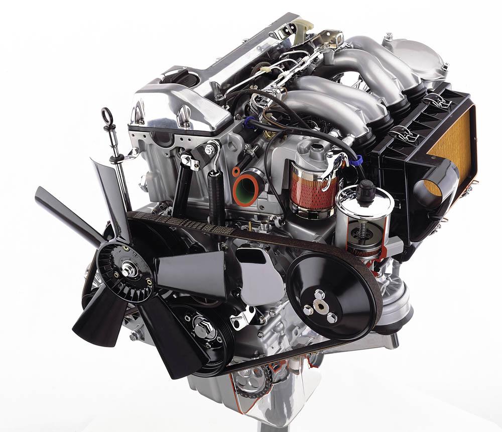 Двигатель на мерседес спринтер классик